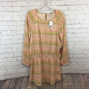 Forever 21 Contemporary Pastel Pattern Tunic